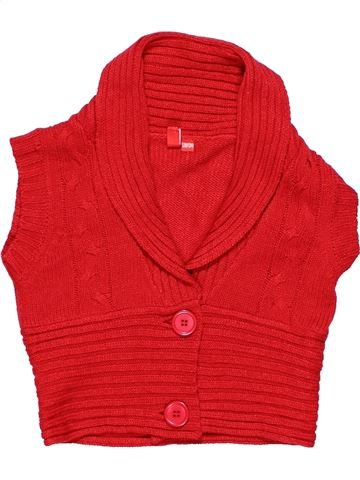 Vest girl GIRLS red 9 years winter #7900_1