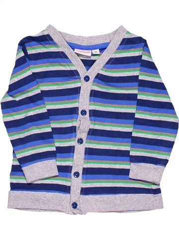 Long sleeve polo shirt boy LIEGELIND white 2 years winter #8107_1