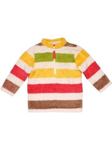 Sweatshirt girl JOHN LEWIS white 6 months winter #8529_1