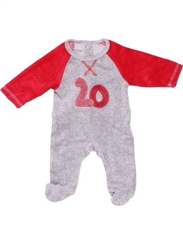 Short jumpsuit unisex VERTBAUDET white 1 month winter #8610_1