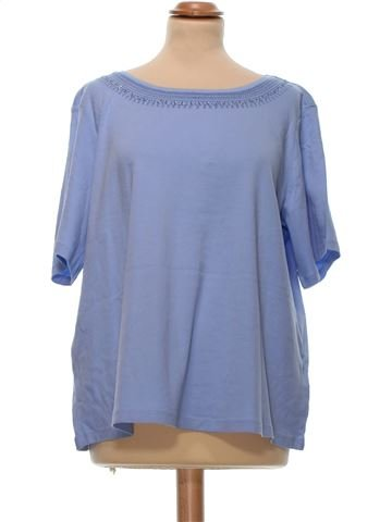 Short Sleeve Top woman M&S UK 20 (XL) summer #8880_1