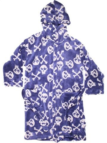 Dressing gown boy JOHN LEWIS purple 9 years winter #8942_1