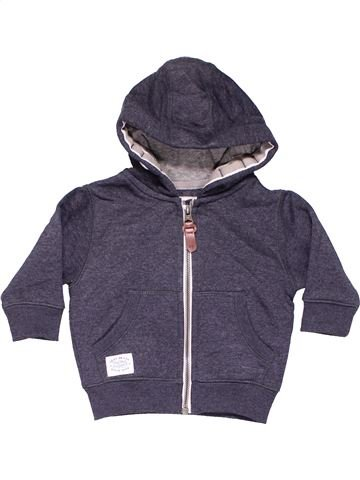 Sweatshirt unisex NEXT purple 6 months winter #9448_1
