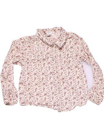 Long sleeve blouse girl GYMBOREE pink 6 years winter #9520_1