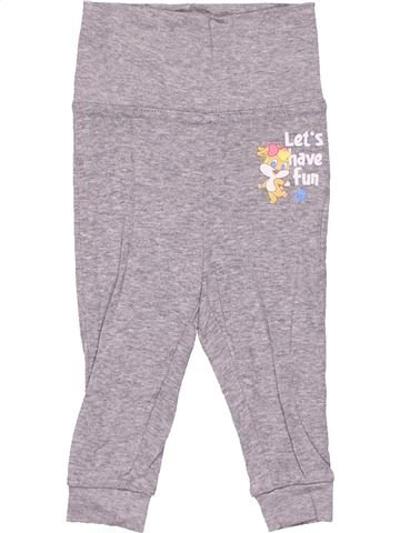 Trouser girl LOONEY TUNES gray 6 months winter #9884_1